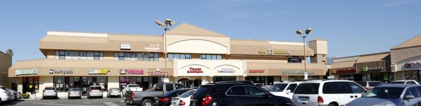 $5,500,000 Shopping Center Refinance